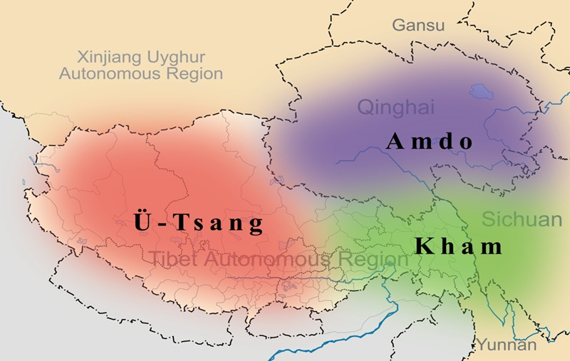 3 Tibetan inhabited areas