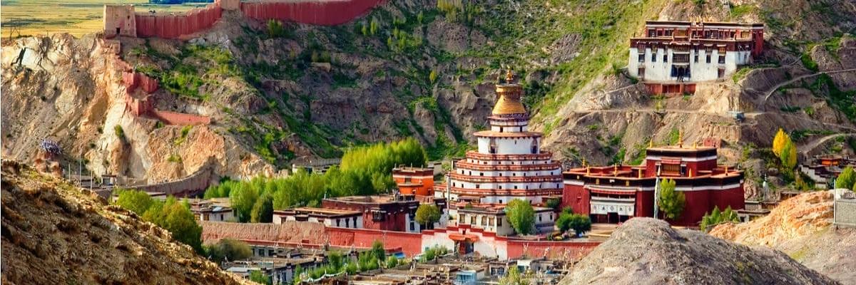 Pelkor Chöde Monastery at Gyantse