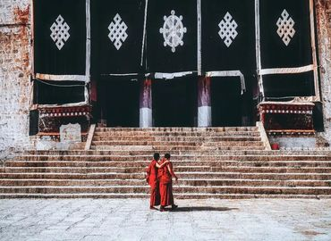 Drepung is the biggest Tibetan monastery.