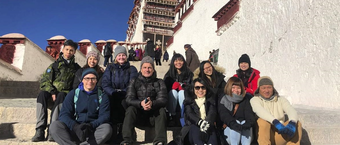 Our customers at Potala Palace