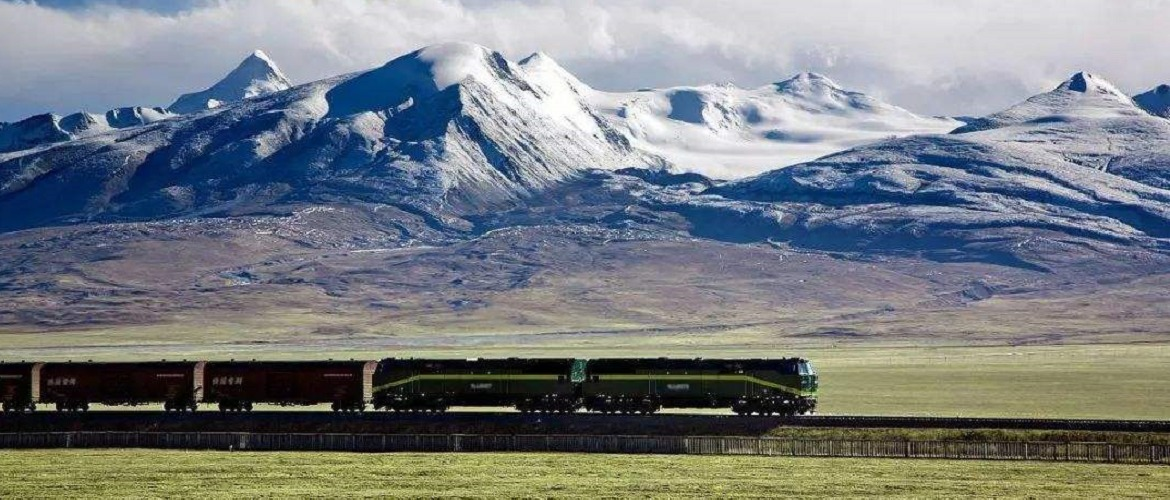 Qinghai Tibet Railway is one of the most spectacular railways in the world.
