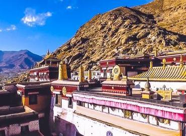 Sera Monastery is renowned as the most beautiful Tibetan Monastey.