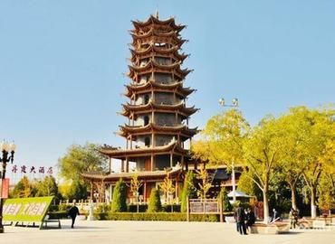 Wooden Pagoda Temple at Zhangye