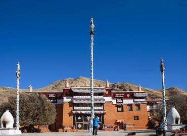 Gongkar Chode Monastery is one of the famous Sakya monasteries near Lhasa.