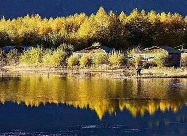 The beautiful scenery of Gyama Valley