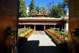 """Norbulingka means """"Treasure Park"""" in Tibetan."""