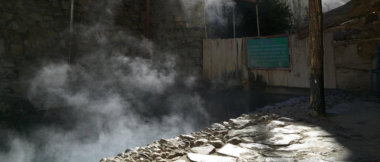 Tidrum hot springs