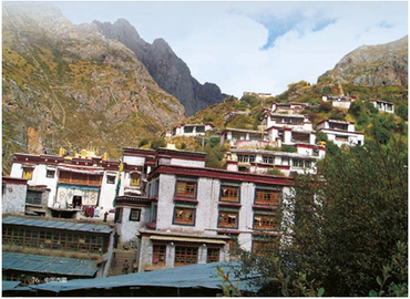Tidrum Nunnery is a Tibetan Buddhist nuns monastery.