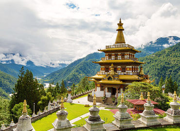 Khamsum Yulley Namgyal Chorten is the only stupa in Bhutan that enshrines all kinds of protector gods.
