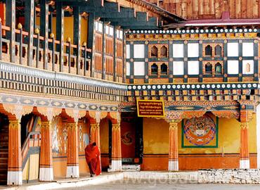 The best representative of Bhutanese architecture.