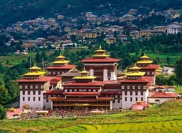 Trashi Chhoe Dzong is a prestigious Buddhist monastery in Bhutan and the government center of the capital Thimphu.